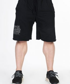 Fitness Shorts Heren Zwart - Nebbia Hard Core 344