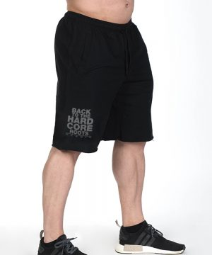 Fitness Shorts Heren Zwart - Nebbia Hard Core 344-2