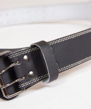 Gorilla-Wear-4-Inch-Padded-Leather-Belt-Zwart-5