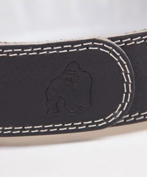 Gorilla-Wear-4-Inch-Padded-Leather-Belt-Zwart-6