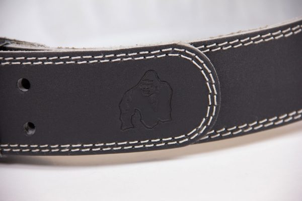 Gorilla-Wear-4-Inch-Padded-Leather-Belt-Zwart-6