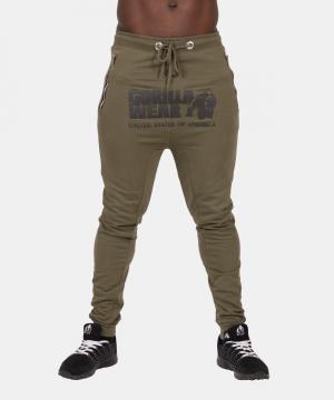 Gorilla-Wear-Alabama-Drop-Crotch-Joggers-Groen-3