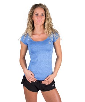 Gorilla Wear Cheyenne T-shirt Blauw-1