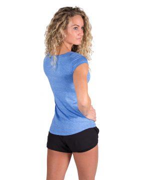 Gorilla Wear Cheyenne T-shirt Blauw-3