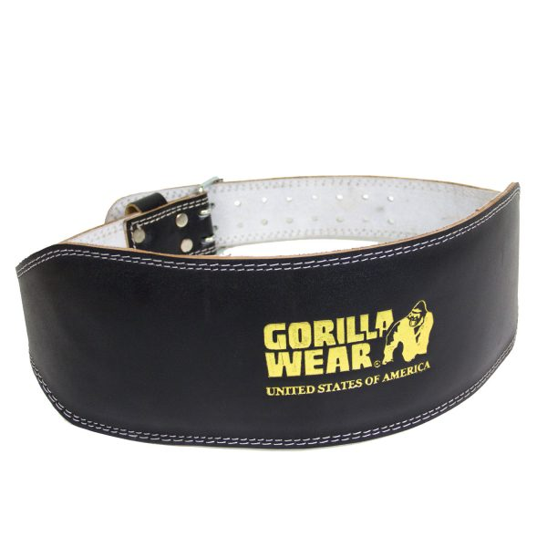 Gorilla-Wear-Full-Leather-Padded-Belt-Black-1
