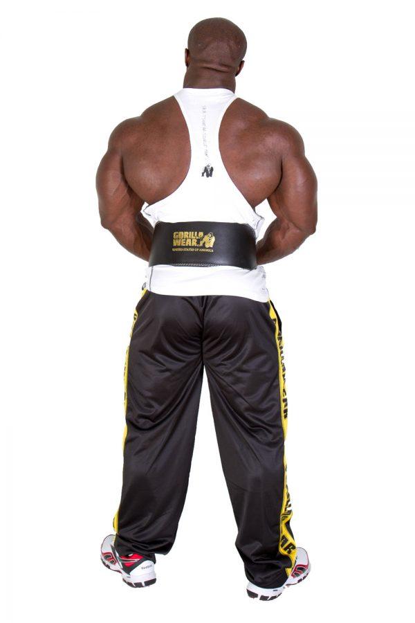 Gorilla-Wear-Full-Leather-Padded-Belt-Black-2