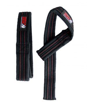 Gorilla-Wear-Hardcore-Lifting-Straps-Zwart-1
