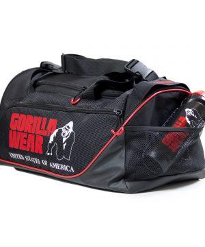 Gorilla-Wear-Jerome-Gym-Bag-Zwart-Rood-3