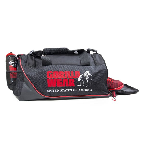 Gorilla-Wear-Jerome-Gym-Bag-Zwart-Rood-4