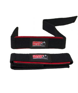 Gorilla-Wear-Padded-Lifting-Straps-1
