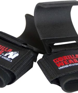 Gorilla-Wear-Weight-Lifting-Hooks-Zwart