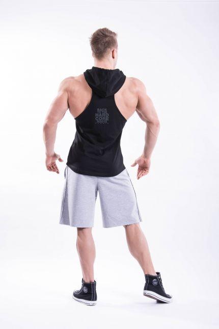 Fitness Shorts Heren Lichtgrijs - Nebbia Hard Core 344-2