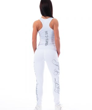 Carbon Fitness Tanktop Dames Wit - Nebbia 221-2