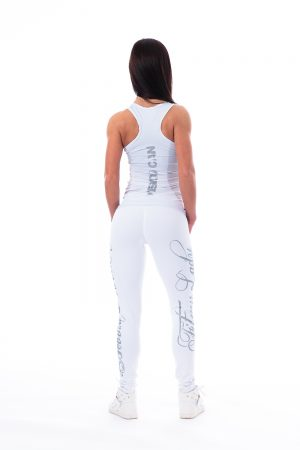 Carbon Fitness Tanktop Dames Wit - Nebbia 221-2