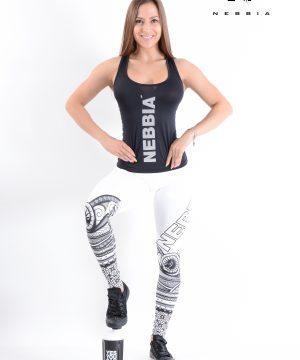 Carbon Fitness Tanktop Dames Zwart - Nebbia 221-1