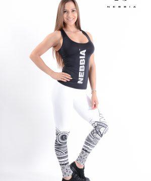 Carbon Fitness Tanktop Dames Zwart - Nebbia 221-2