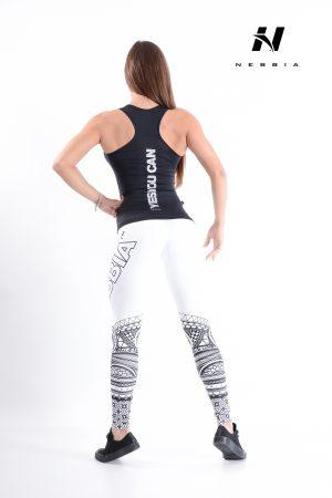 Carbon Fitness Tanktop Dames Zwart - Nebbia 221-3