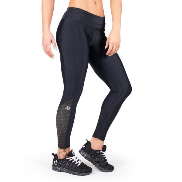Compressie Legging Zwart Carlin - Gorilla Wear-1