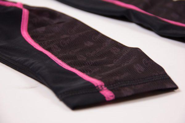 Compressie Legging Zwart Roze Carlin - Gorilla Wear-5