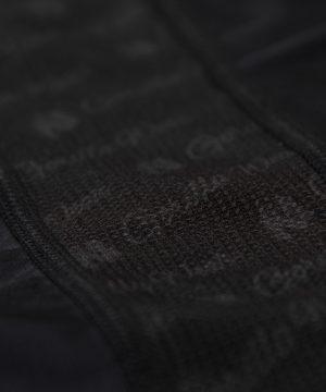 Compressie T-shirt Zwart Carlin - Gorilla Wear-4