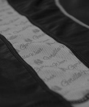 Compressie T-shirt Zwart Grijs Carlin - Gorilla Wear-4