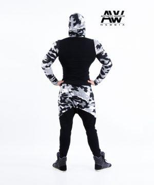 Fitnes Vest Heren Camo Wit - Nebbia 116-2