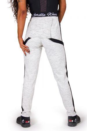 Fitness Broek Dames Grijs Dolores Dungarees - Gorilla Wear-2