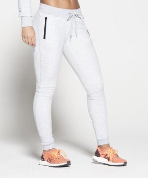 Fitness Broek Dames Grijs Fleece - Pursue Fitness-2