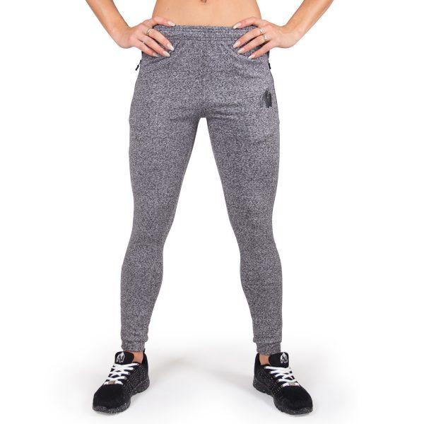 Fitness Broek Dames Grijs Shawnee - Gorilla Wear-3