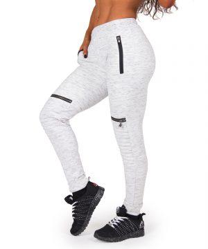 Fitness Broek Dames Grijs Tampa - Gorilla Wear-1