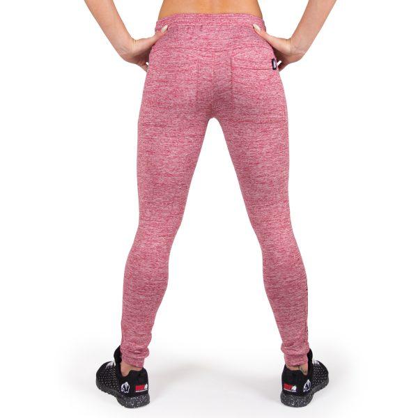 Fitness Broek Dames Rood Shawnee - Gorilla Wear-2