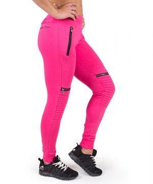 Fitness Broek Dames Roze Tampa - Gorilla Wear-1