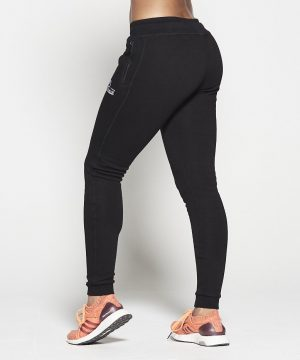 Fitness Broek Dames Zwart Fleece - Pursue Fitness-1