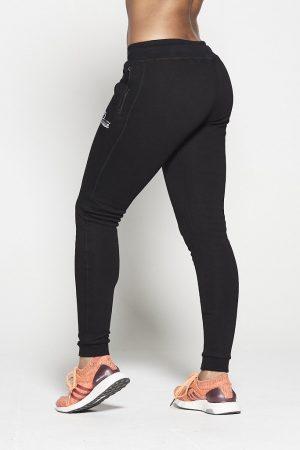 Fitness Broek Dames Zwart Fleece - Pursue Fitness-1