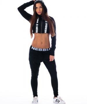 Fitness Broek Dames Zwart - Nebbia 204-1