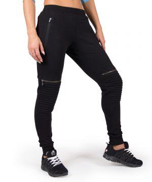 Fitness Broek Dames Zwart Tampa - Gorilla Wear-1