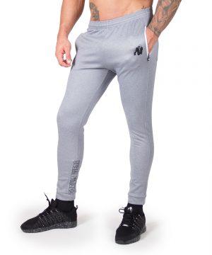 Fitness Broek Heren Blauw Zilver Bridgeport - Gorilla Wear-1