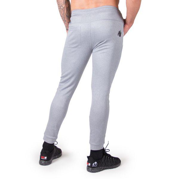 Fitness Broek Heren Blauw Zilver Bridgeport - Gorilla Wear-2