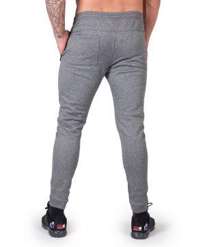 Fitness Broek Heren Donkergrijs Bridgeport - Gorilla Wear-2