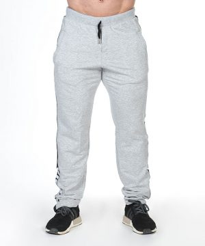 Fitness Broek Heren Grijs - Nebbia Hard Core Sweatpants 366-1