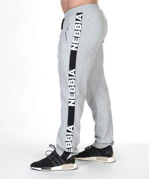 Fitness Broek Heren Grijs - Nebbia Hard Core Sweatpants 366-2