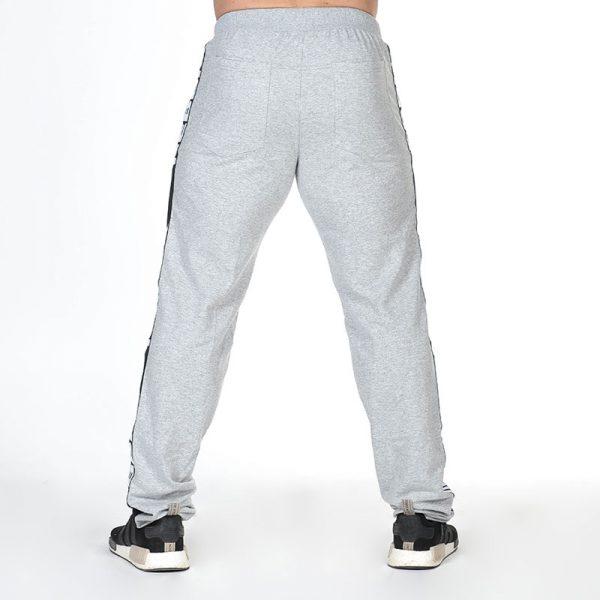 Fitness Broek Heren Grijs - Nebbia Hard Core Sweatpants 366-3