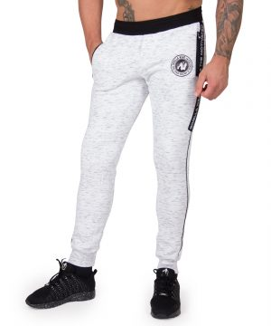 Fitness Broek Heren Grijs Saint Thomas - Gorilla Wear-1
