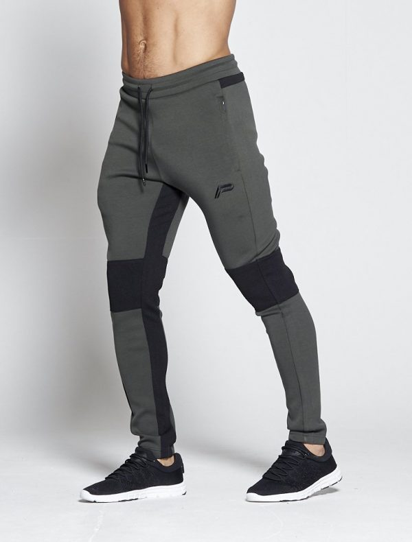 Fitness Broek Heren Khaki Hybrid - Pursue Fitness-1
