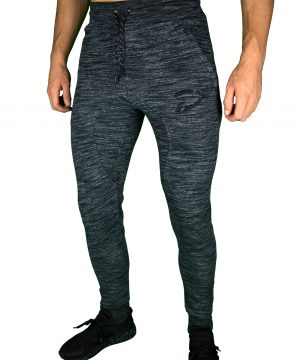 Fitness Broek Heren Original Dark Slub - Disciplined Apparel