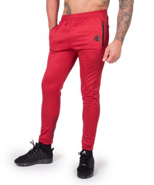 Fitness Broek Heren Rood Bridgeport - Gorilla Wear-1