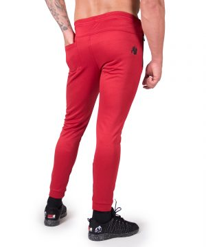 Fitness Broek Heren Rood Bridgeport - Gorilla Wear-2