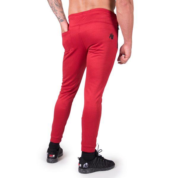 Fitness Broek Heren Rood Bridgeport - Gorilla Wear-2