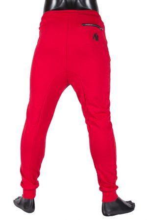 Fitness Broek Heren Rood - Gorilla Wear Alabama-3