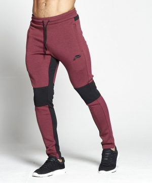 Fitness Broek Heren Rood Hybrid - Pursue Fitness-1